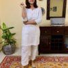 meerahini white lounge set