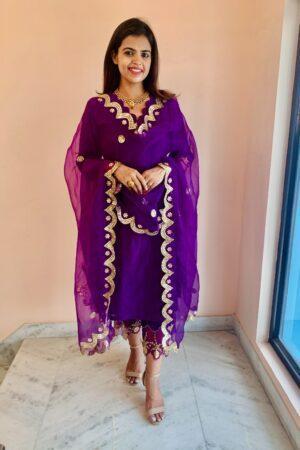 purple utsav collection by meerahini